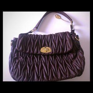 Vieta Brown Handbag